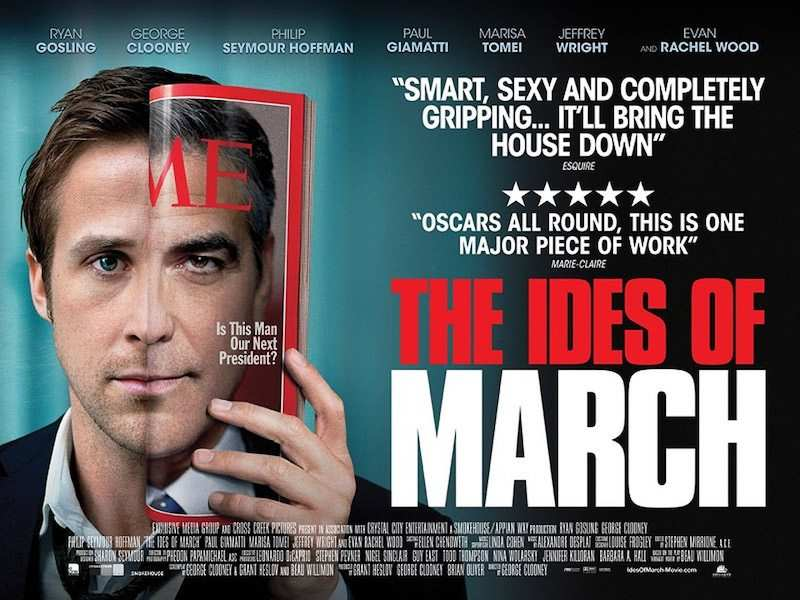 the ides of march film afişi