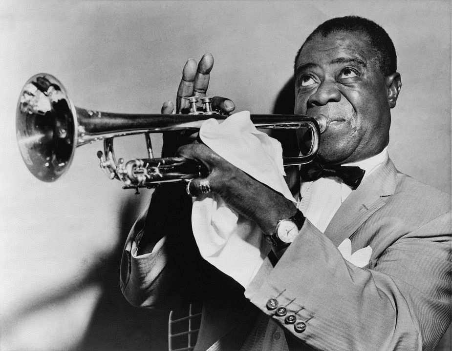 trompetci blues müzisyeni