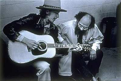 Allen Ginsberg & Bob Dylan