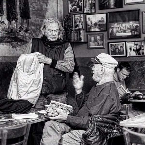 Jack Hirschmann & Lawrence Ferlinghetti