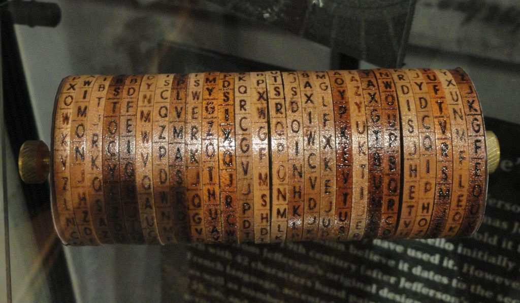 Thomas Jefferson, Cylinder Cipher Machine