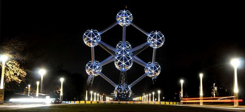 atomium belçika brüksel