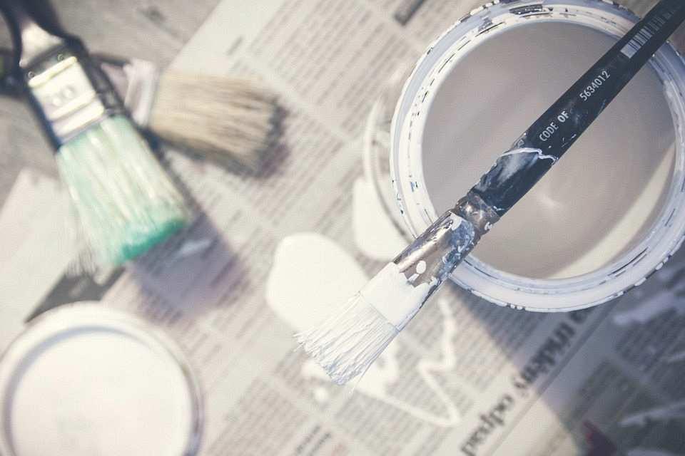 boya ve fırçalar