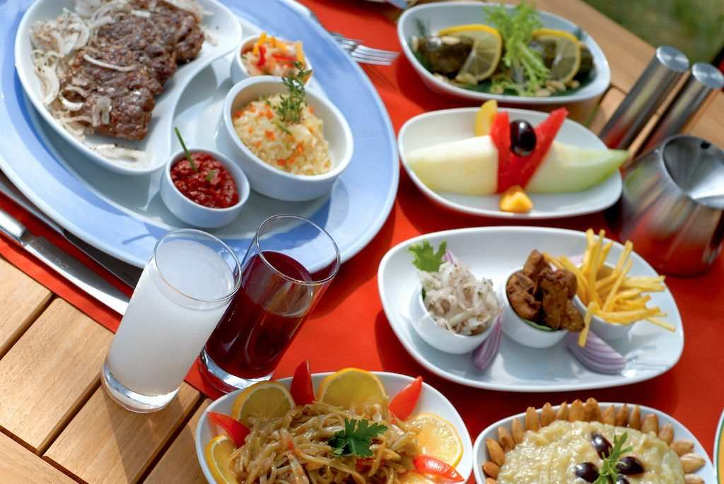 Turkish dinner table rakı şalgam