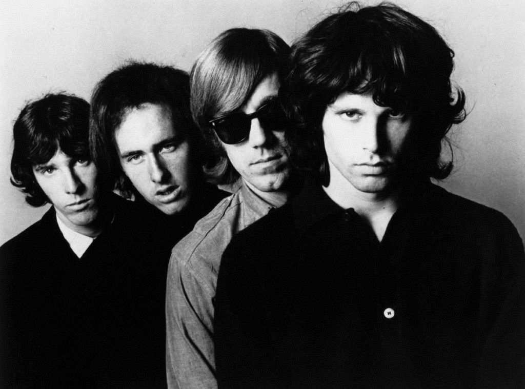 John Densmore, Robby Krieger, Ray Manzarek, Jim Morrison (the Doors)