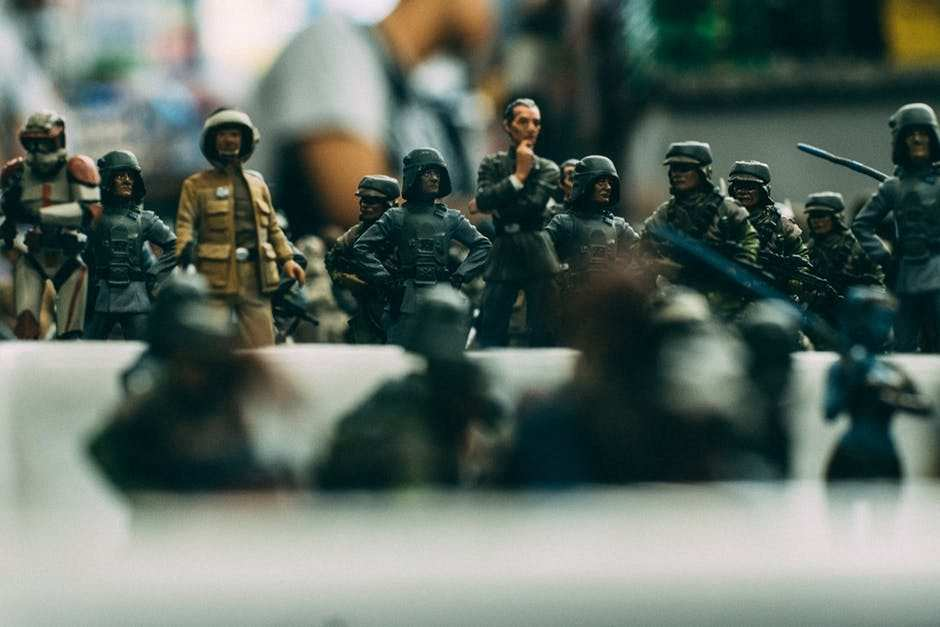 asker minyatürleri satranç takımı
