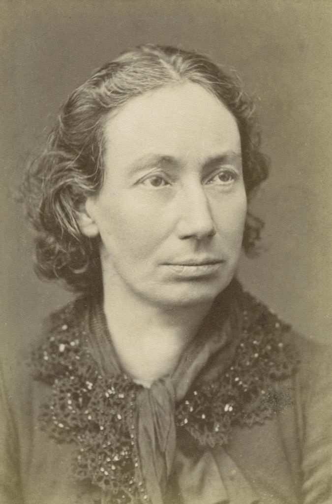 Louise Michel portre