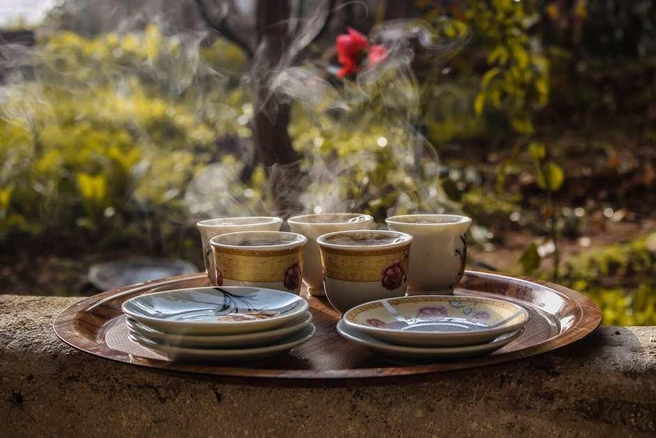 porselen çay fincanları