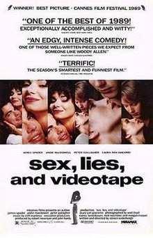 sex, lies and videotape film afişi