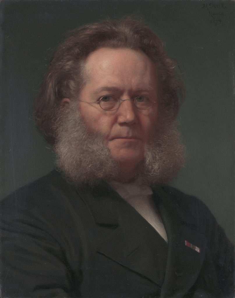 henrik ibsen portre