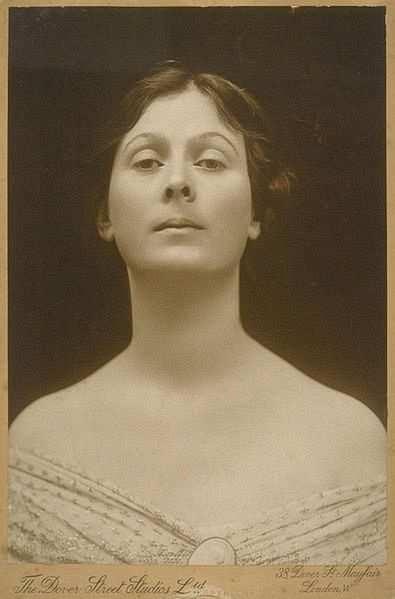 Isadora Duncan portre