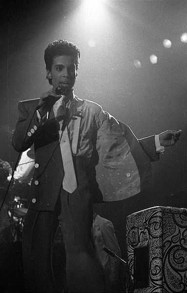prince in brussels in 1986