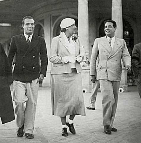 Adolfo Bioy Casares, Victoria Ocampo & Jorge Luis Borges, 1935