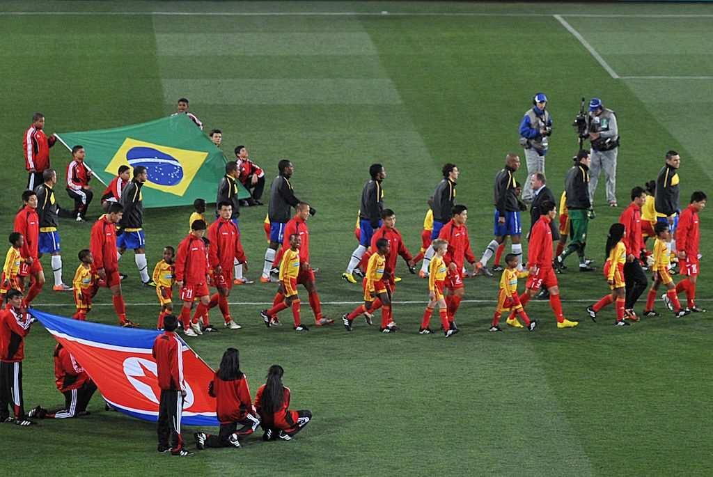 2010 dünya kupası brezilya kuzey kore maçı