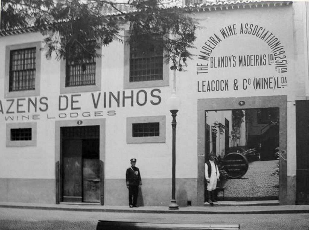 Madeira Şarabı Derneği Giriş Kapısı