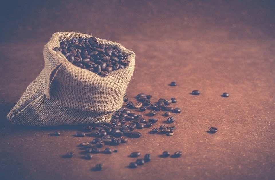 çuvalda kahve çekirdekleri