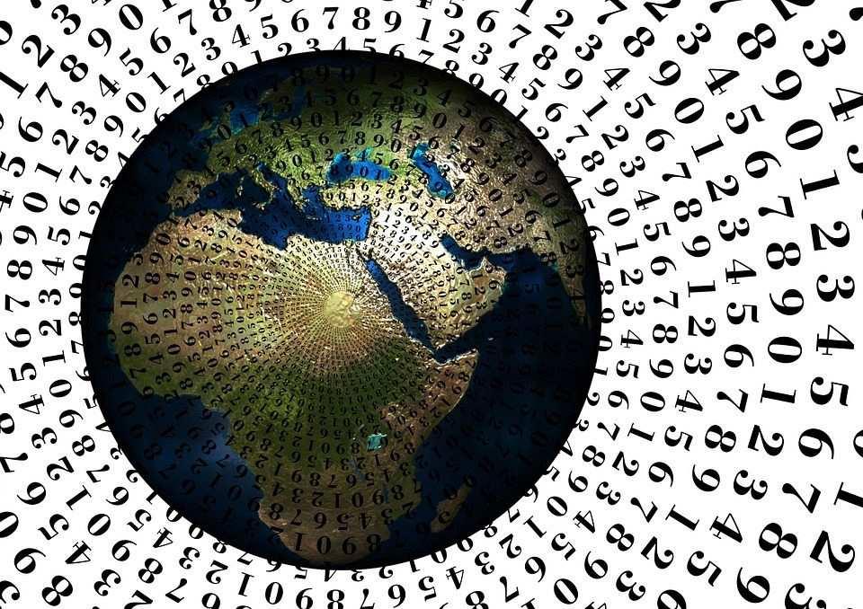 sayılar, dünya