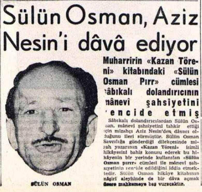 sülün osman aziz nesin haberi