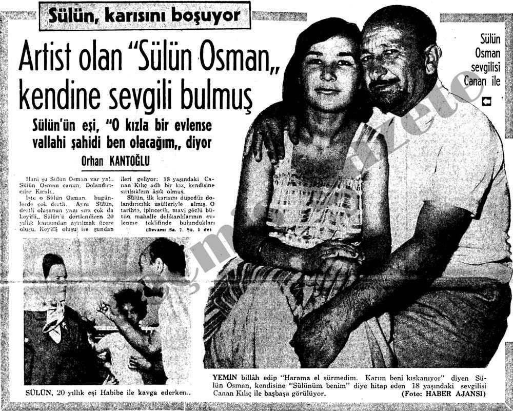 sülün osman boşanıyor haberi