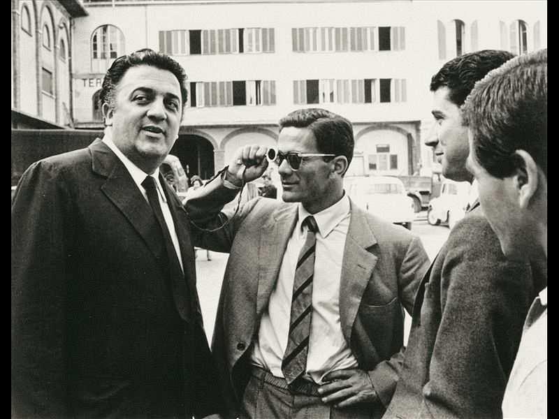 Federico Fellini ve Passollini