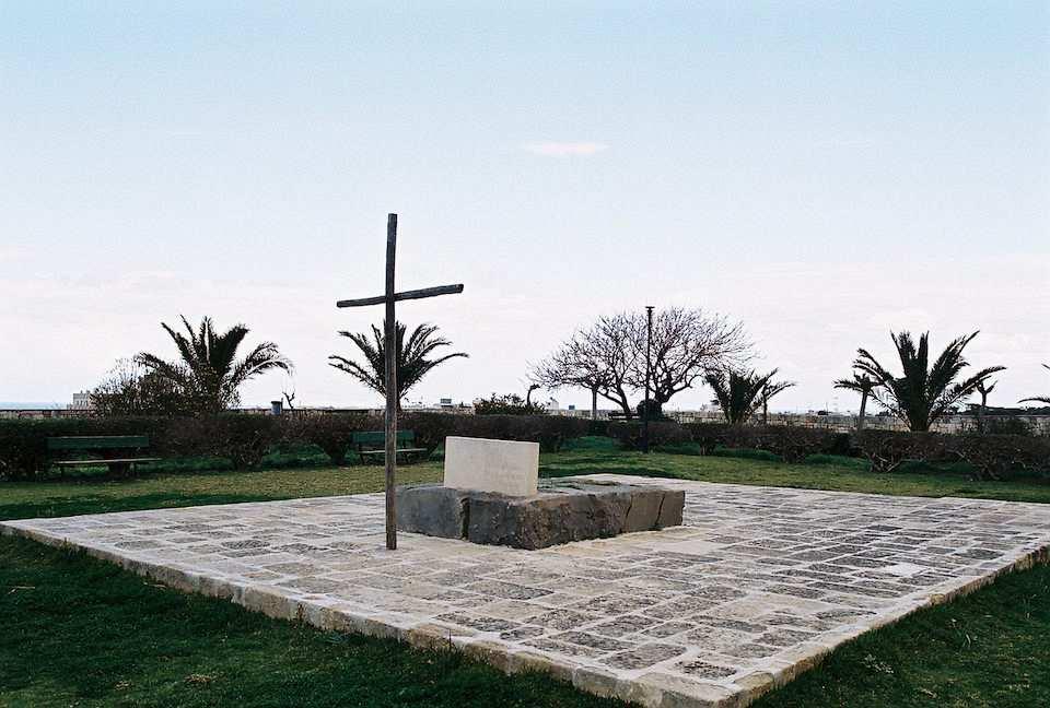 Tombstone of Nikos_Kazantzakis