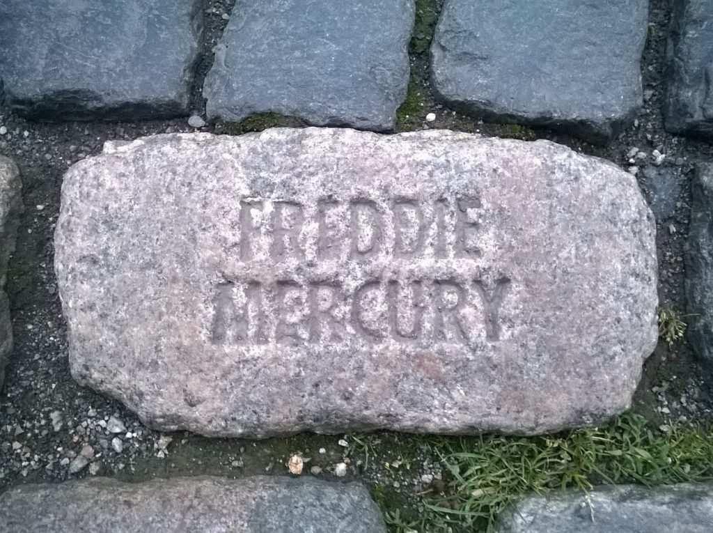 freddie mercury kayası