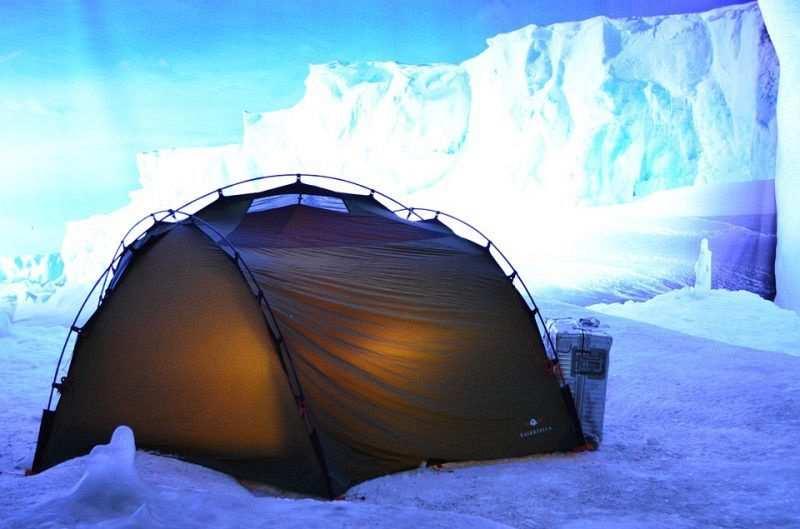 kışın kamp yapmak çadır seçimi