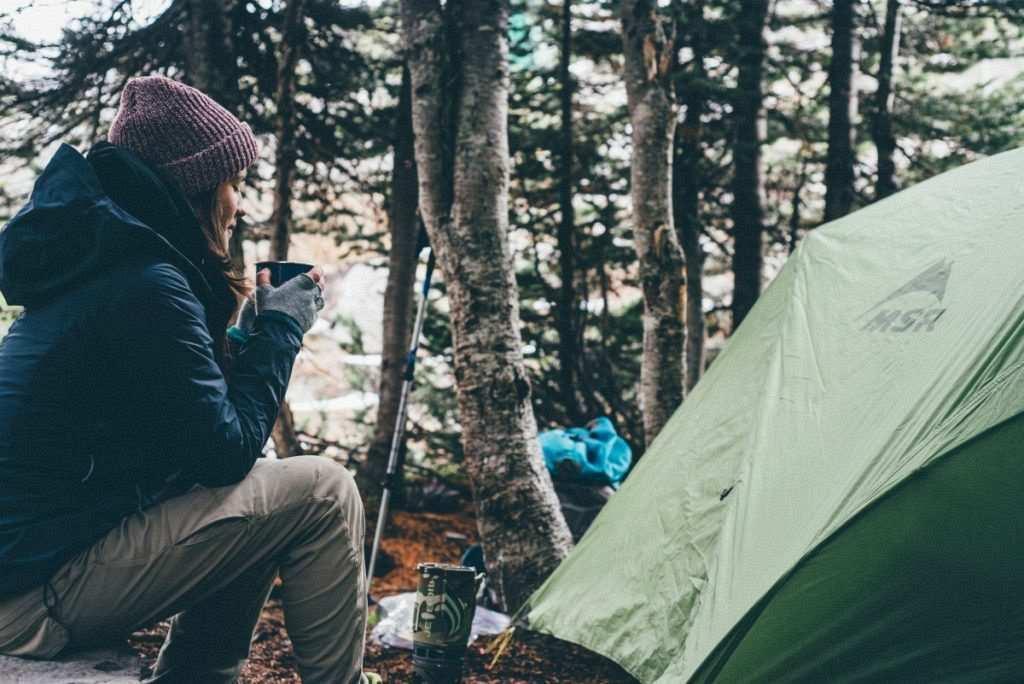 kışın kamp yapmak yemek seçimi