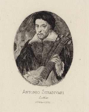 antonio stradivari portre