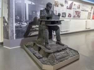 alan turing bletchley park heykeli