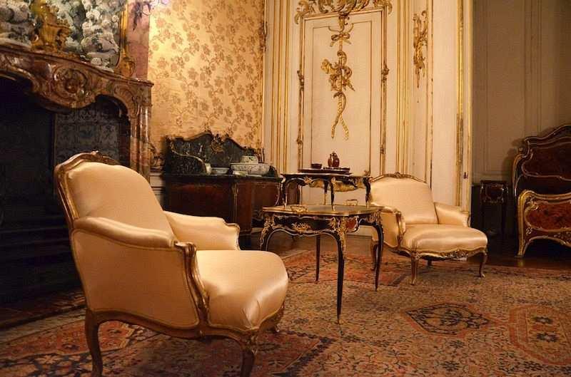 barok stil ev dekorasyonu