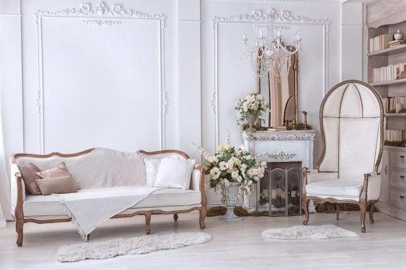 ev dekorasyonu klasik-modern