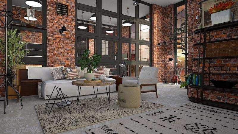 dekorasyon stilleri endüstriyel ve loft