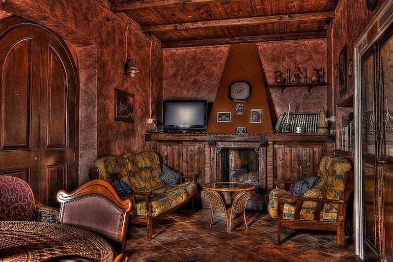 rustik ev dekorasyonu