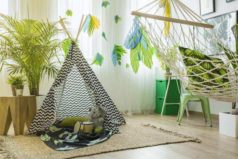 dekorasyon stilleri tropikal