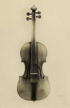 antonio stradivari keman 1722