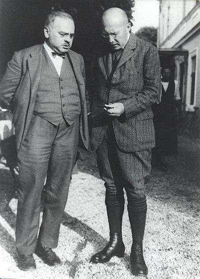 Alfred Adler & Leonhard Seif, 1925