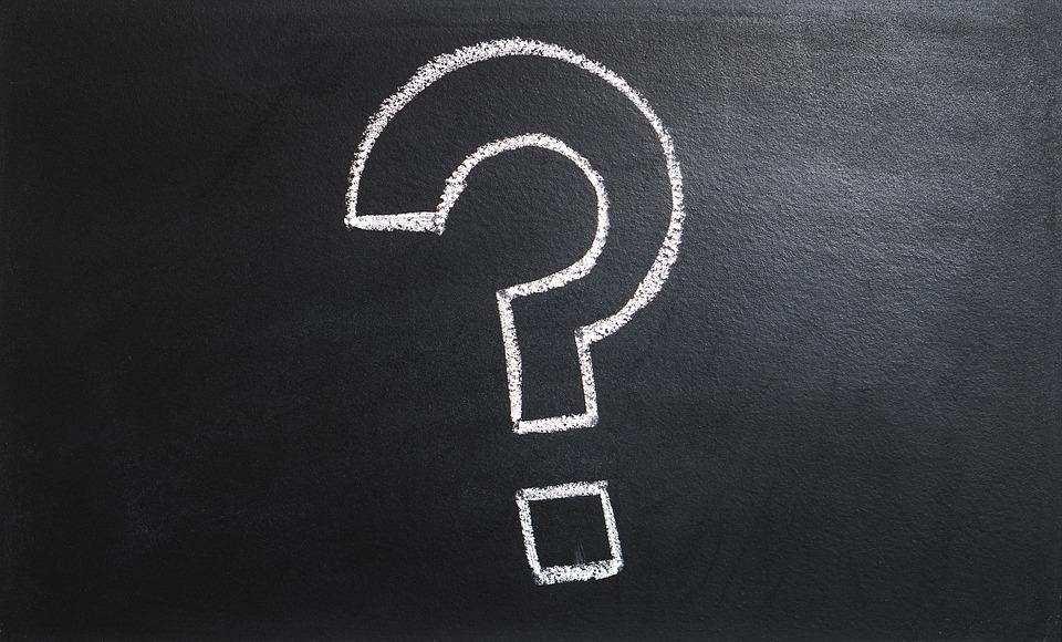 soru işareti kara tahta