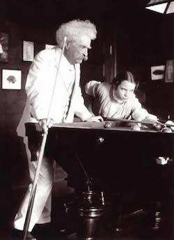 Mark Twain ve Louise Paine