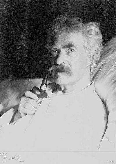mark twain 1906
