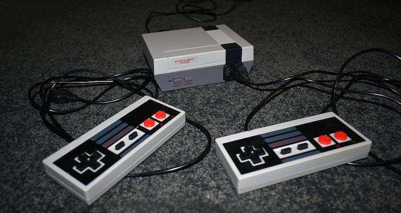 oyun konsolları nintendo entertaintment system NES