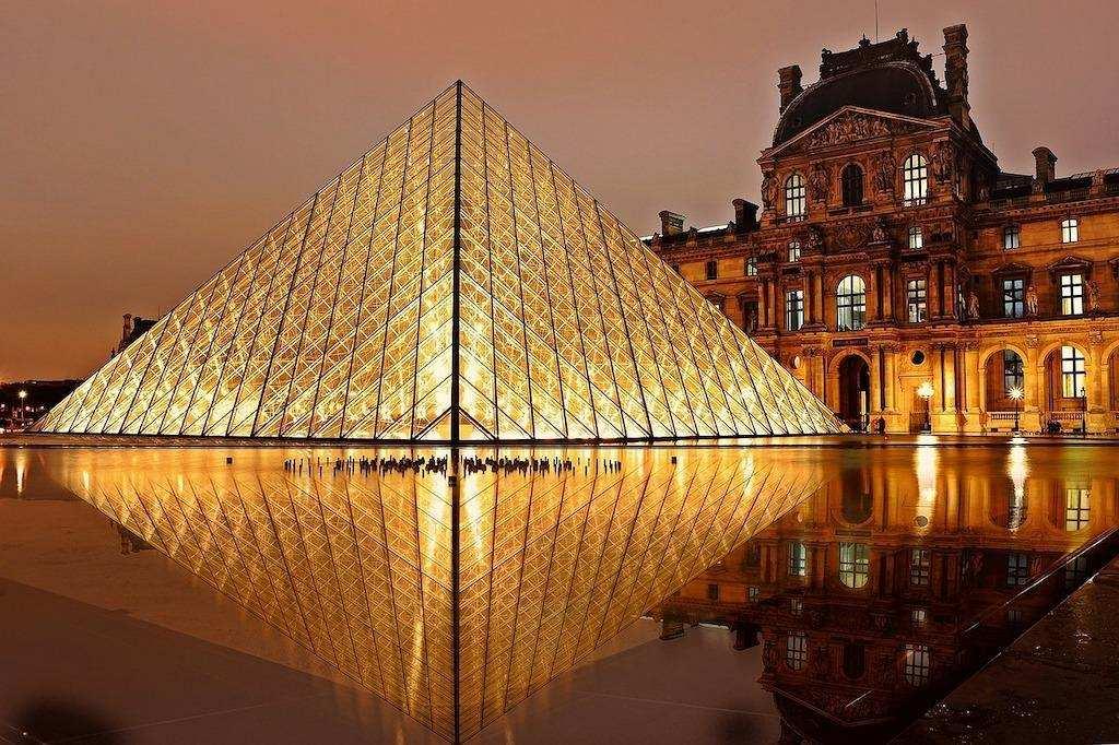sanat dalları mimari louvre müzesi