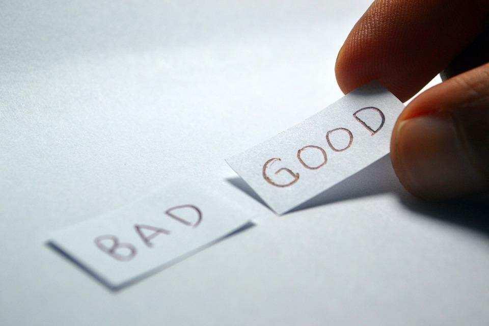 karar vermek iyi kötü