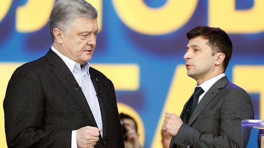 Poroşenko & Zelenskiy