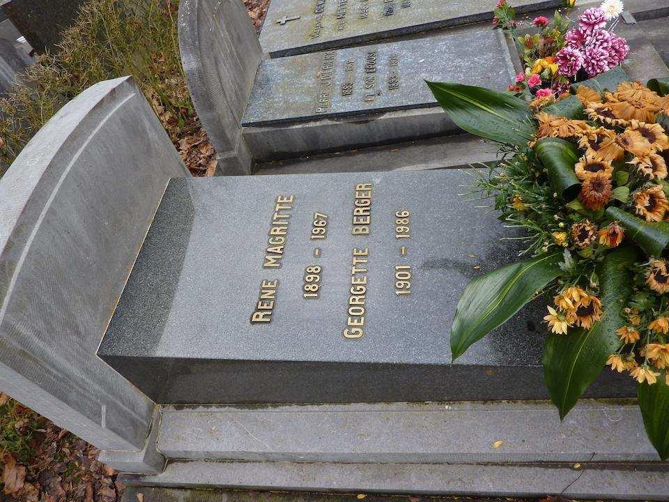 rene magritte mezarlık