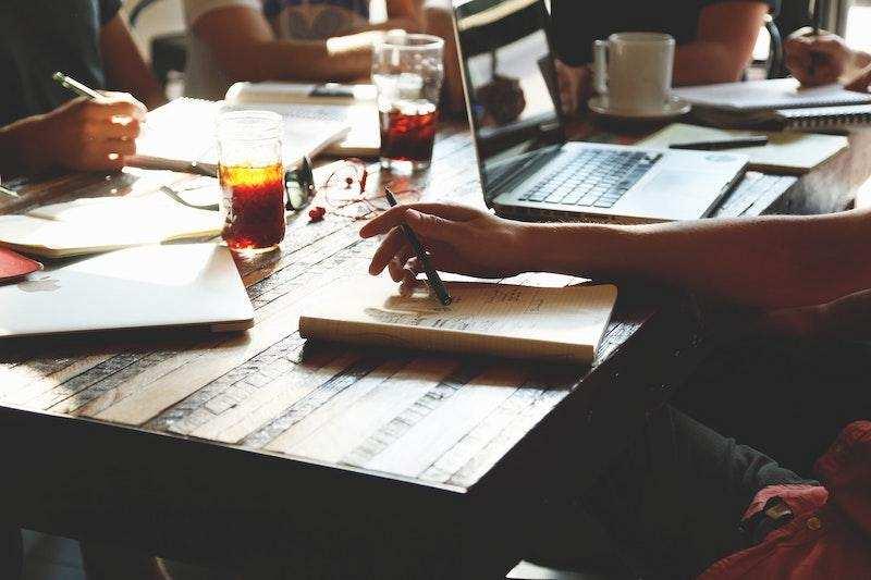 masa iş toplantı