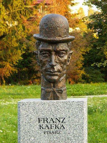 Franz Kafka Büstü