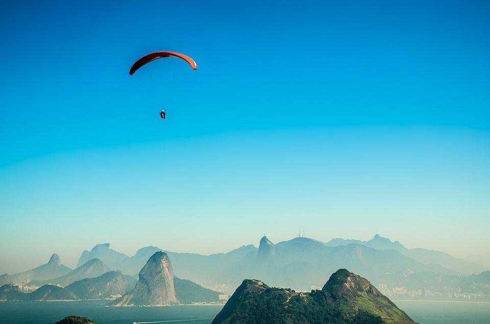 extreme sporlar yamaç paraşütü
