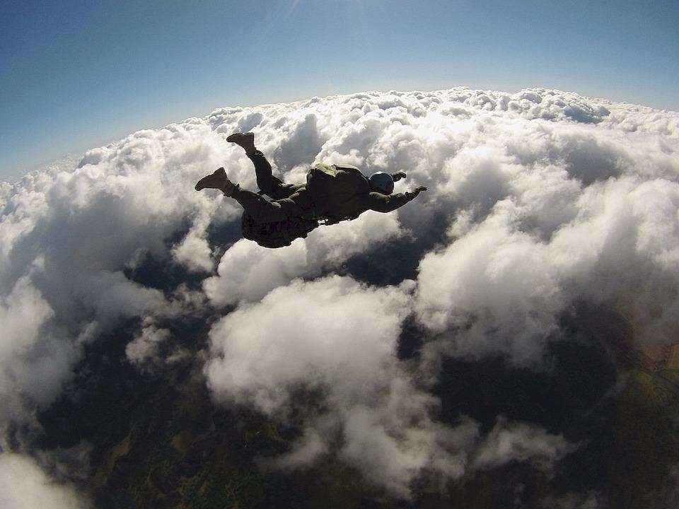 extreme sporlar skydiving