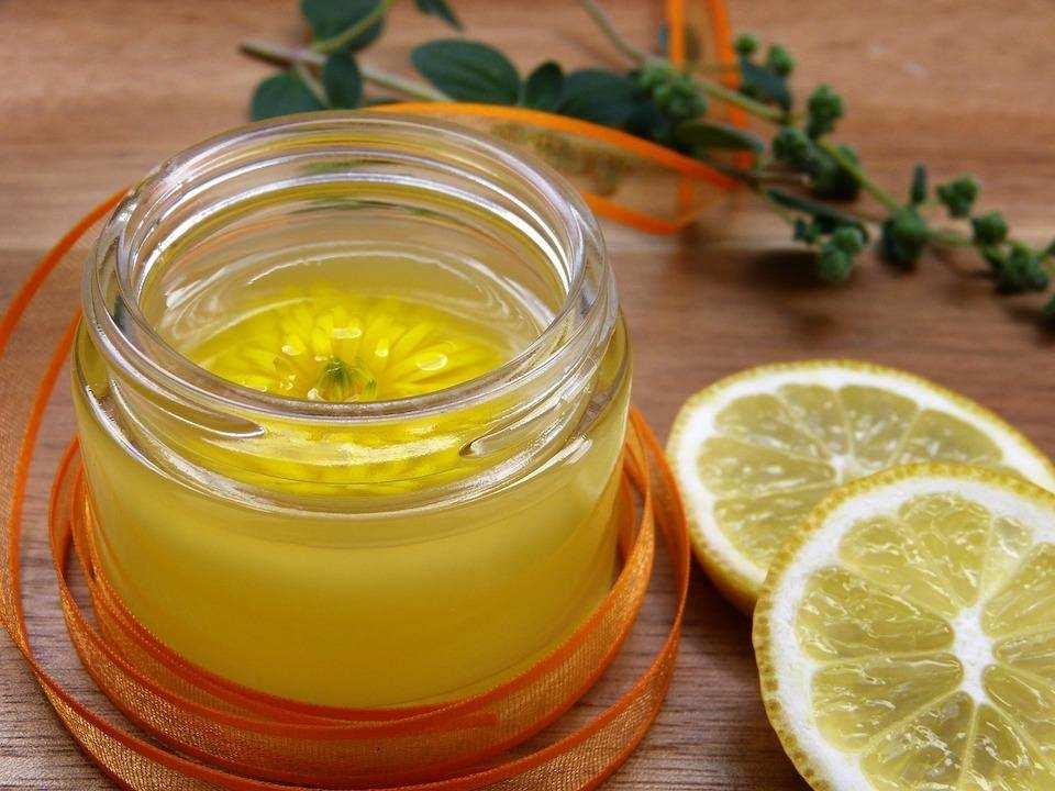 doğal kişisel bakım limon yağ krem cilt bakımı